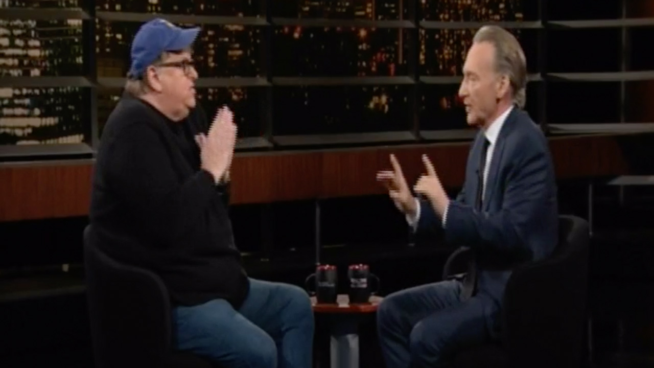 Bill Maher and Michael Moore Clash Over Dem Strategy for 2020: 'The Country Isn't There!'