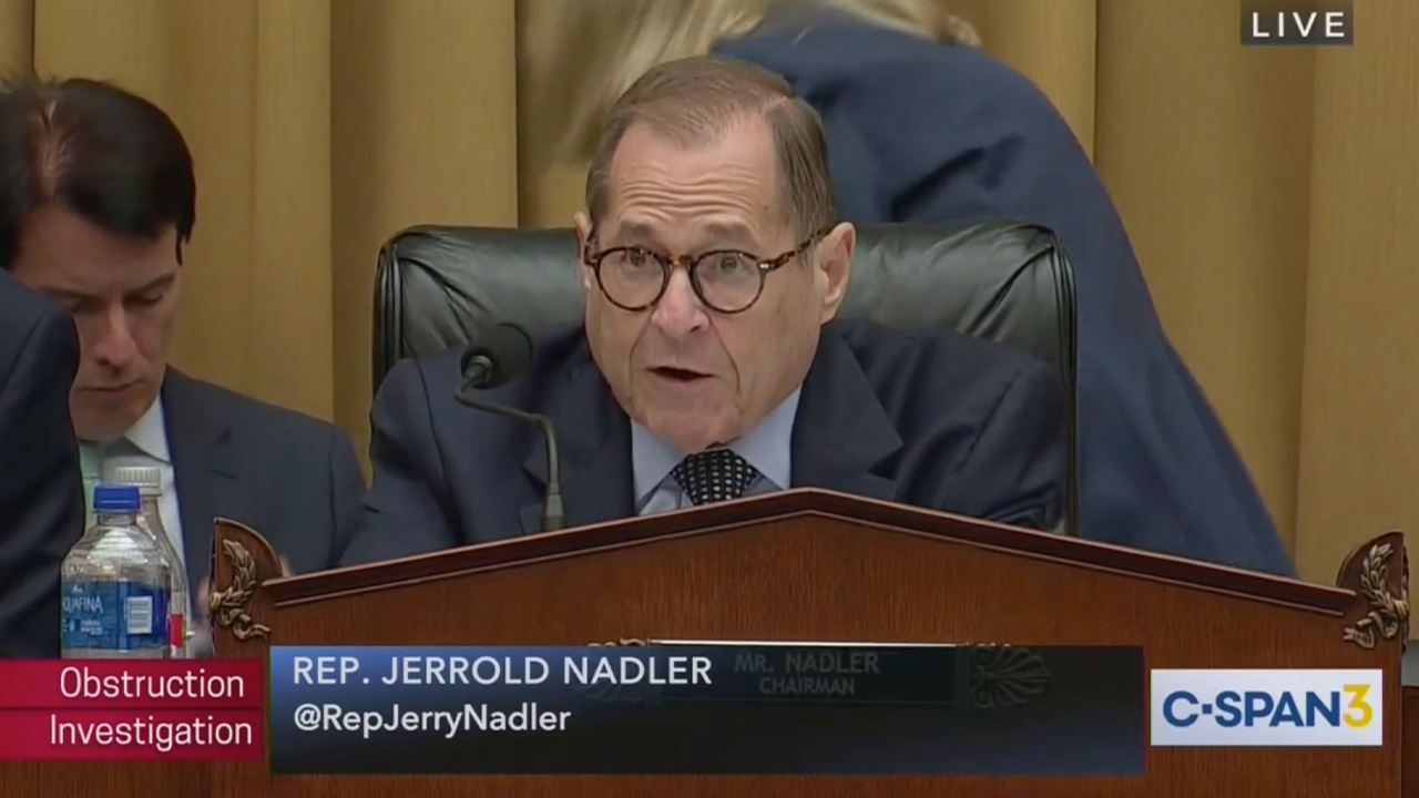 Nadler Rips Lewandowski for 'Unacceptable' Behavior at Hearing, Says Holding Him in Contempt Is 'Under Consideration'