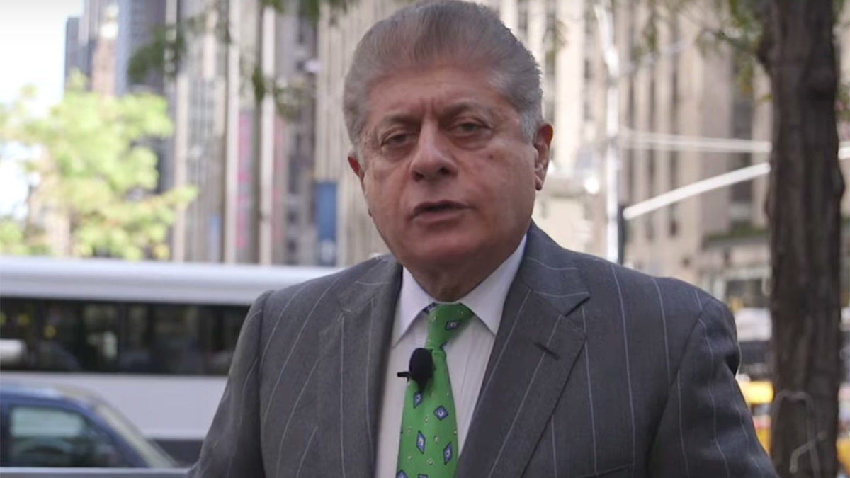 Napolitano Reveals Trump Stopped Consulting Him on Legal Issues 14 Months Ago