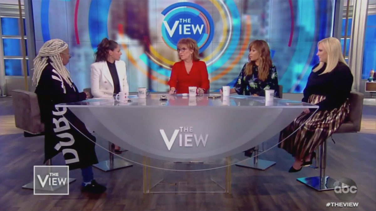 The View Ridicules Sean Spicer's DWTS Debut: Why Is He On After 'Lying for the Liar'?