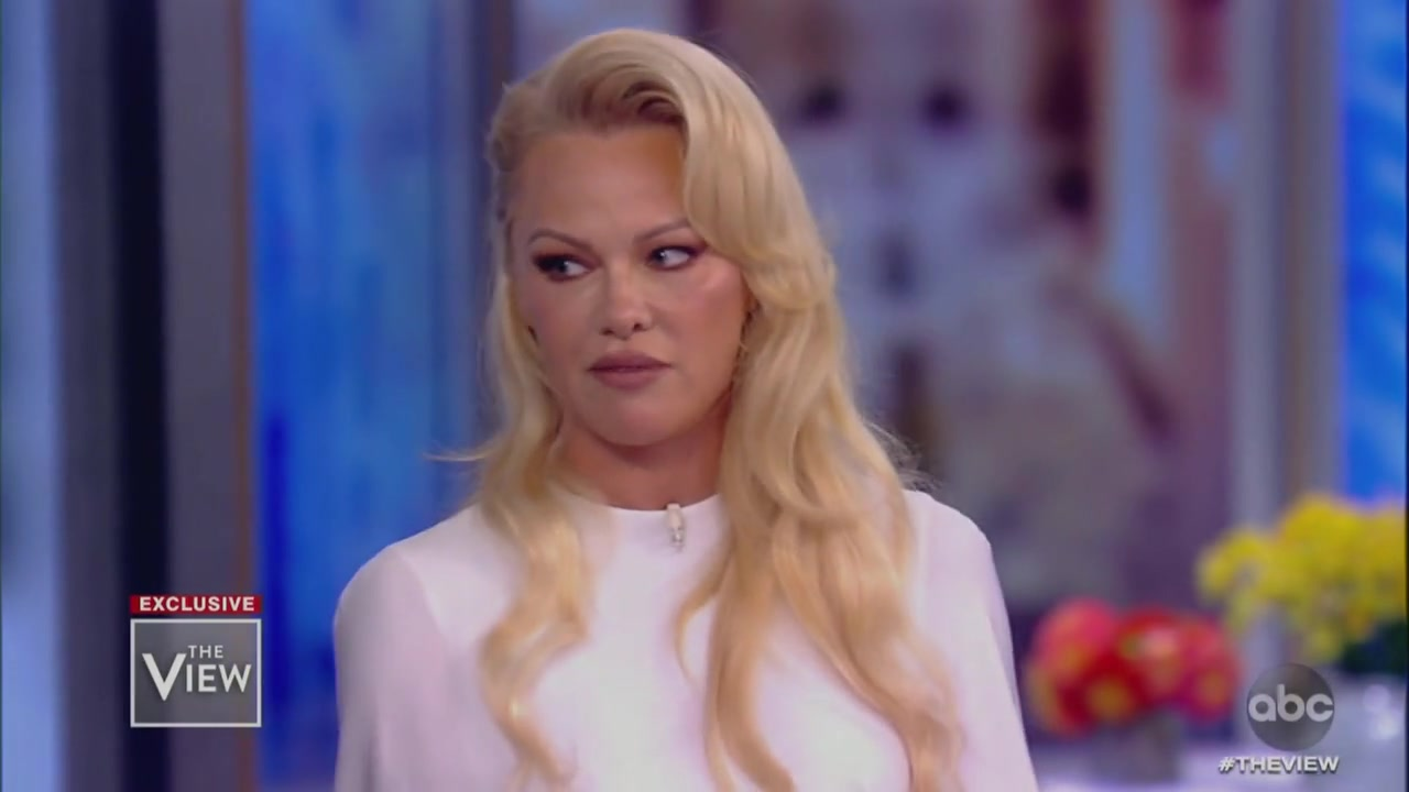 The View Grills Pam Anderson on Relationship with Assange in Explosive Clash: 'Is He Responsible for Giving Us Trump?'