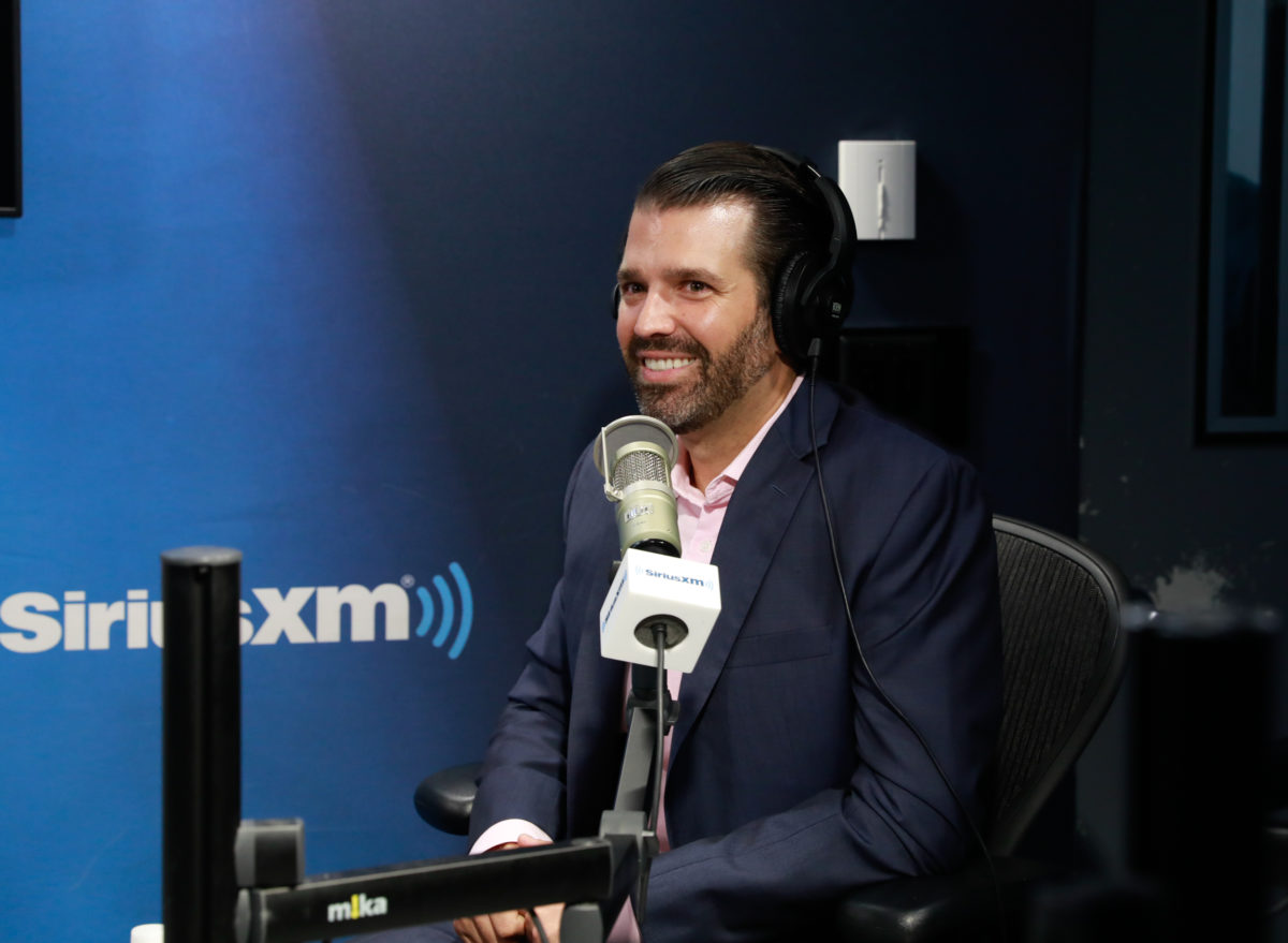 Donald Trump Jr. Bashes George Conway: 'He's Bitter'