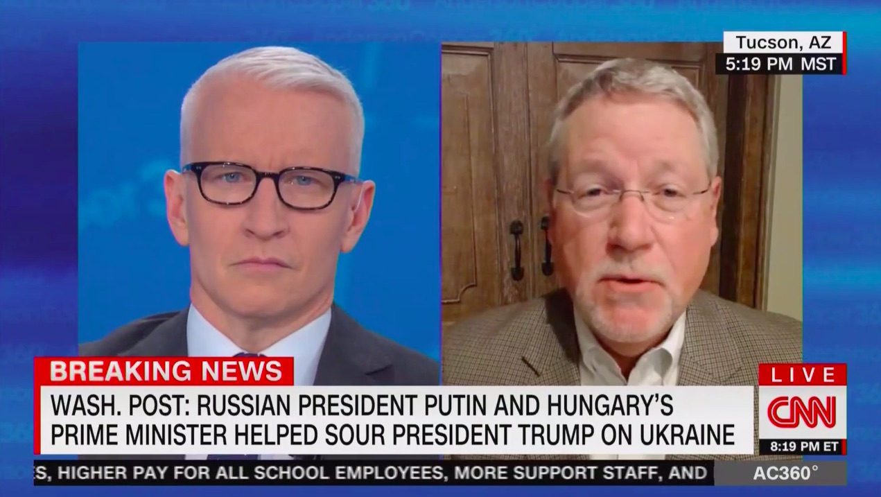 Former CIA Official Blasts Trump Moves on Ukraine, Syria: Vladimir Putin Must Think 'This Is Absolutely Fabulous'