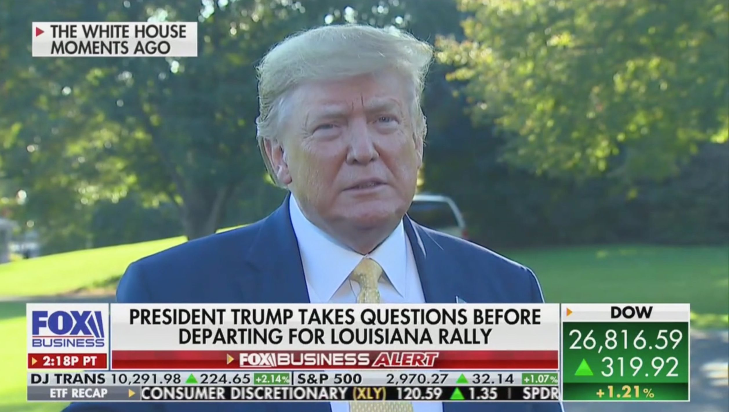 'Oh, That's a Shame': Trump Gleefully Reacts to Shepard Smith's Fox News Exit