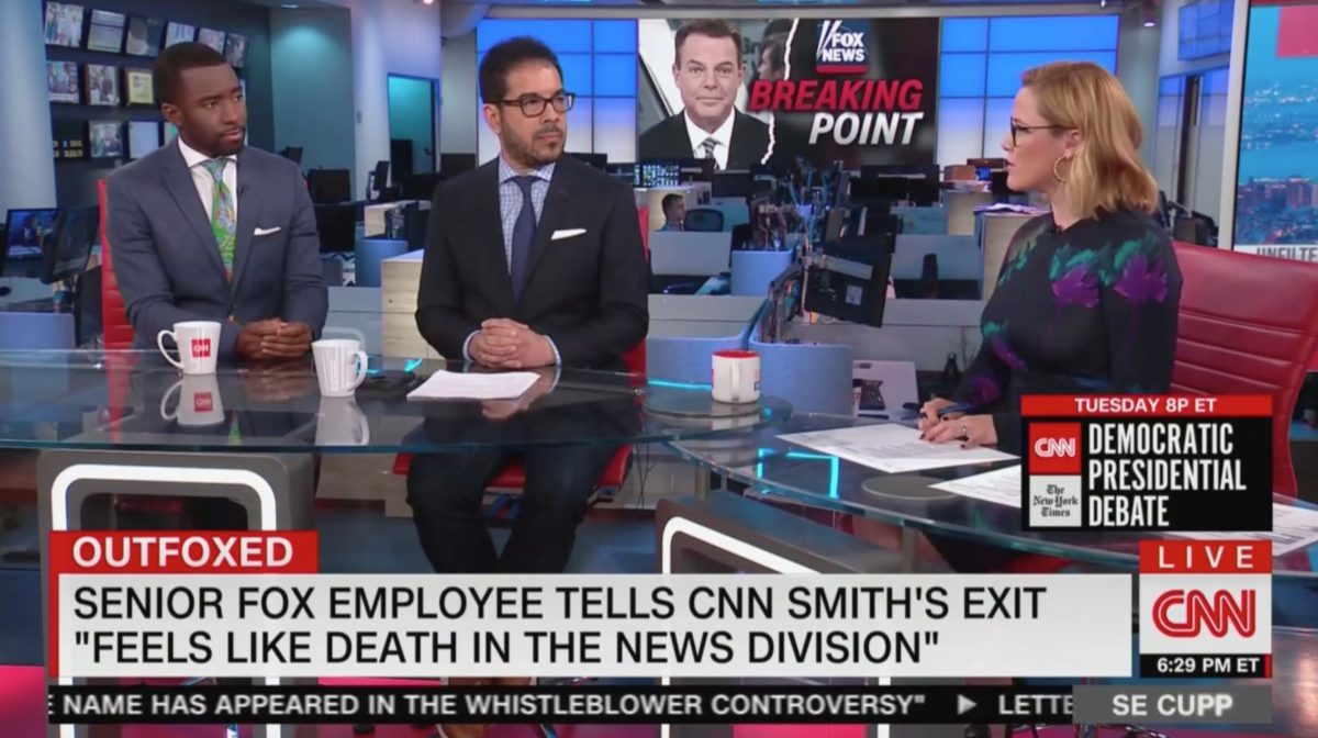 S.E. Cupp Asks if Shepard Smith Exit Foreshadows Further Exits From Fox's News Division