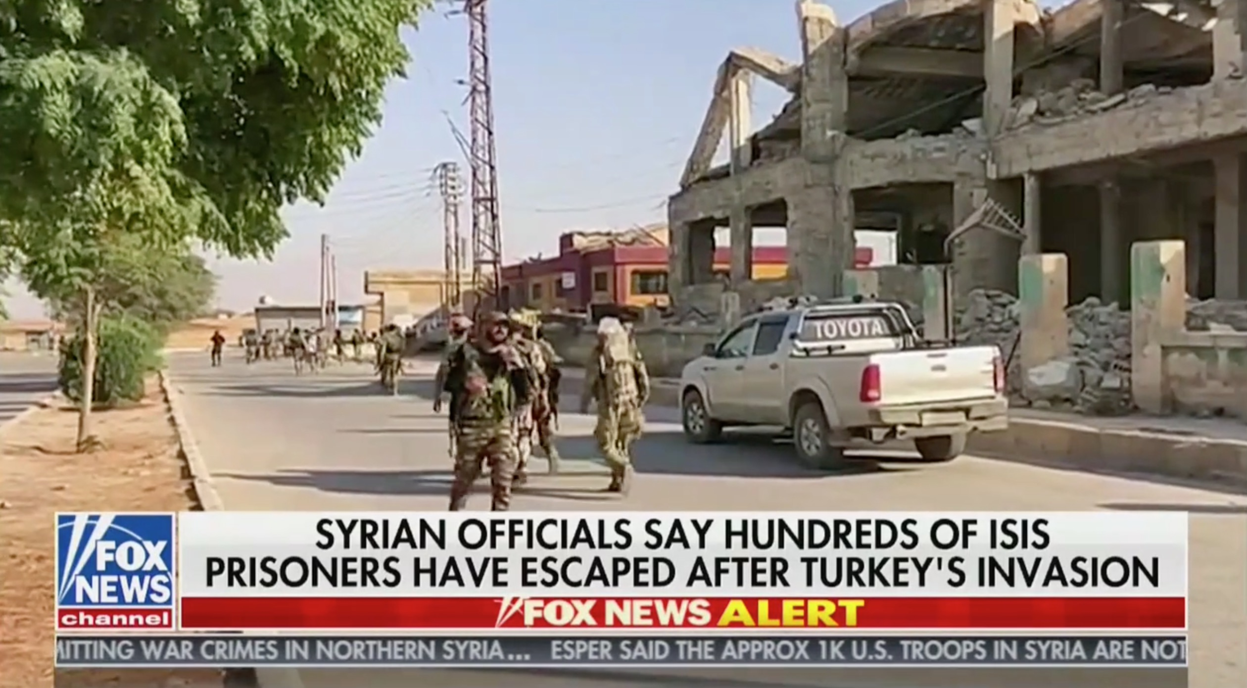 Fox News Reporter Delivers Horrific Report on Syria: While Trump Tweets About Sanctions, 'There's Evidence Today of War Crimes'