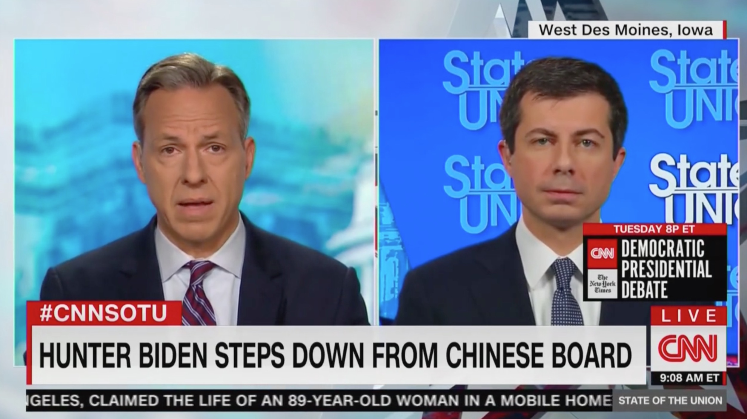 Jake Tapper: Is Hunter Biden's Resignation from Chinese Firm 'Tacit Acknowledgement' of Troubling Optics?