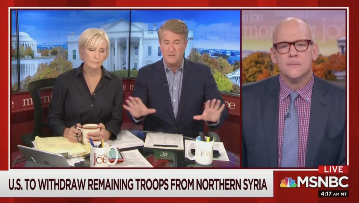 Scarborough: Trump's Aiding and Abetting ISIS, Russia & Iran