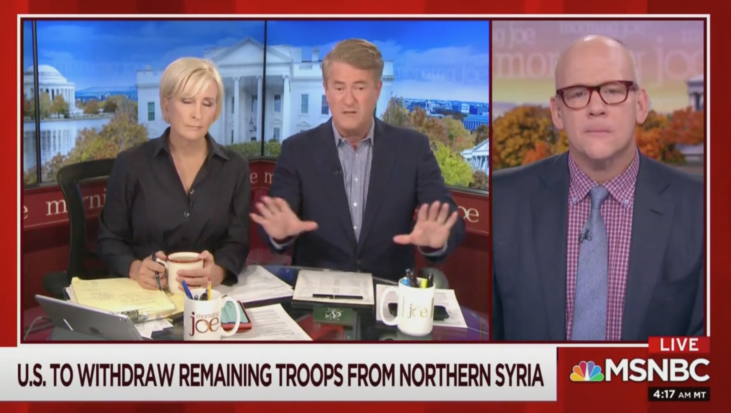 Joe Scarborough: Republicans Believe Trump is 'Aiding and Abetting' ISIS, Russia, Syria and Iran