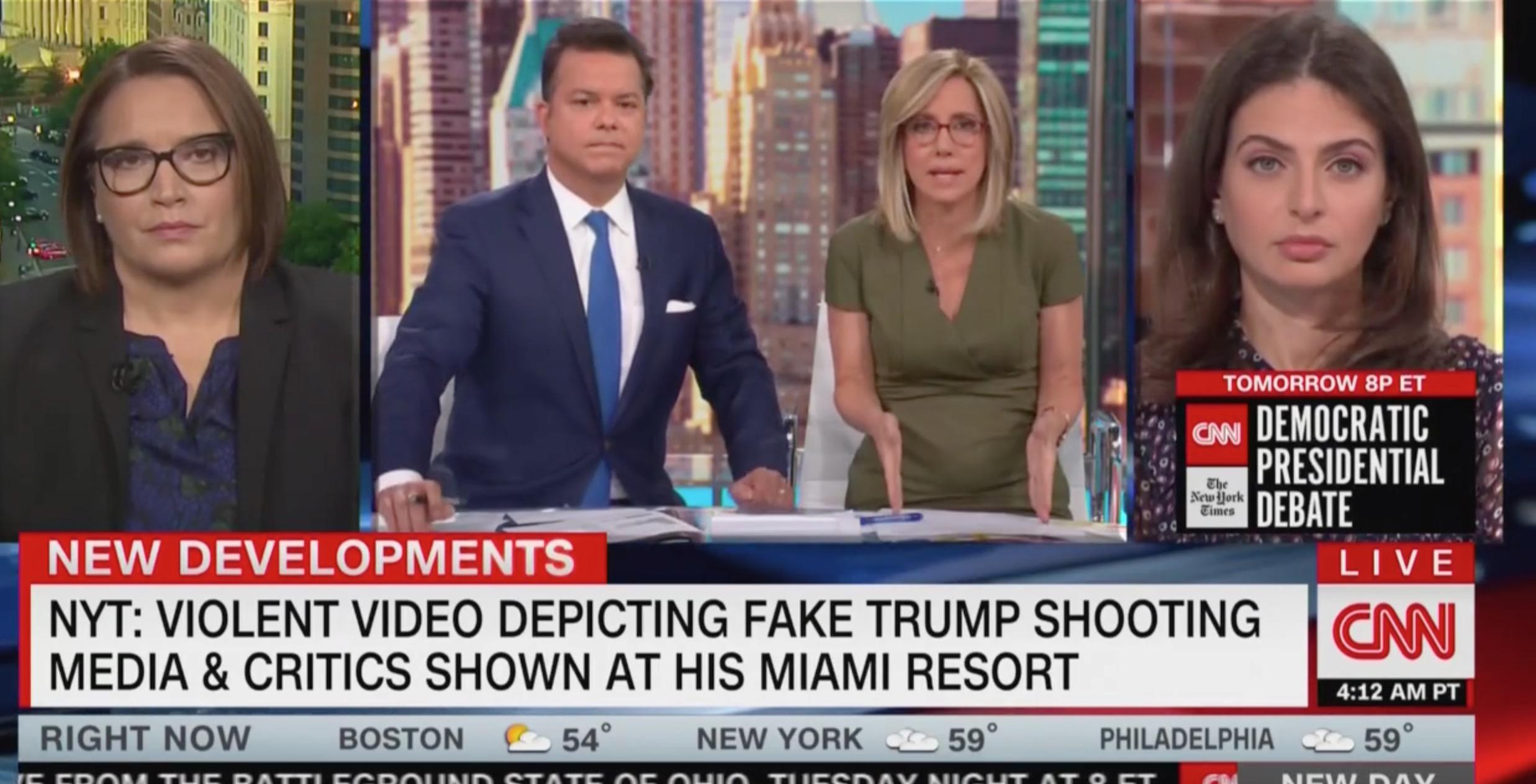 CNN's Alisyn Camerota Slams Trump for Inciting Violence: 'We've Already Seen It…It's Already Happening!'