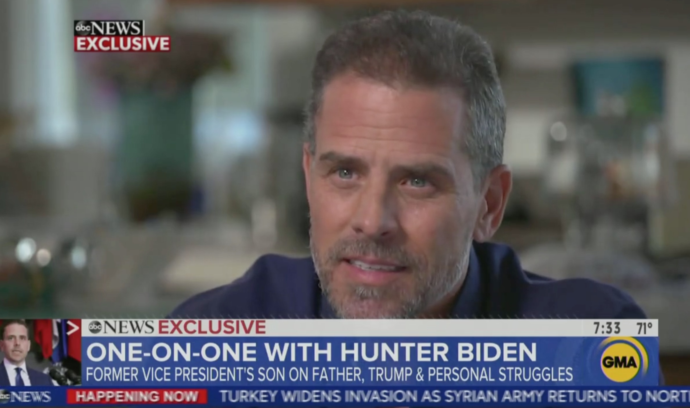 Hunter Biden Ridicules 'Barnum and Bailey' Trump Children: 'They're Out of a B Movie'