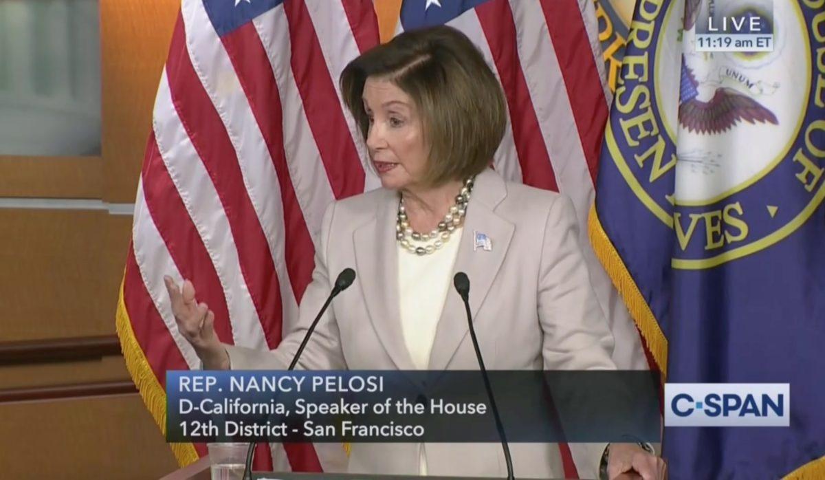 House Speaker Nancy Pelosi Reveals Details on Viral White House 'Meltdown' Photo