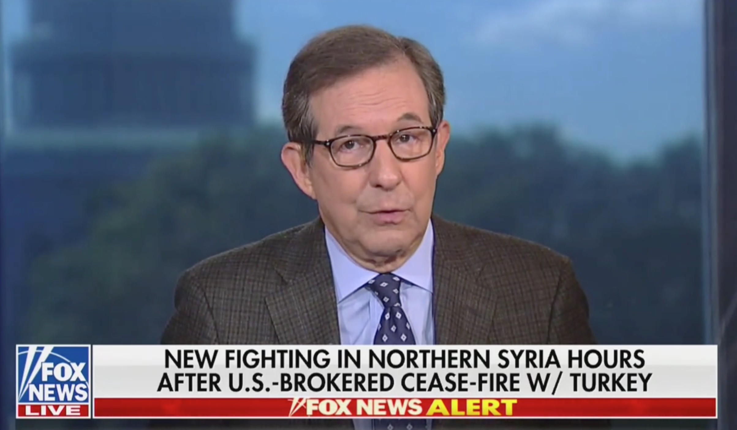 Fox's Chris Wallace Systematically Picks Apart Trump's Syria Gambit: Is This a Ceasefire or a Surrender?