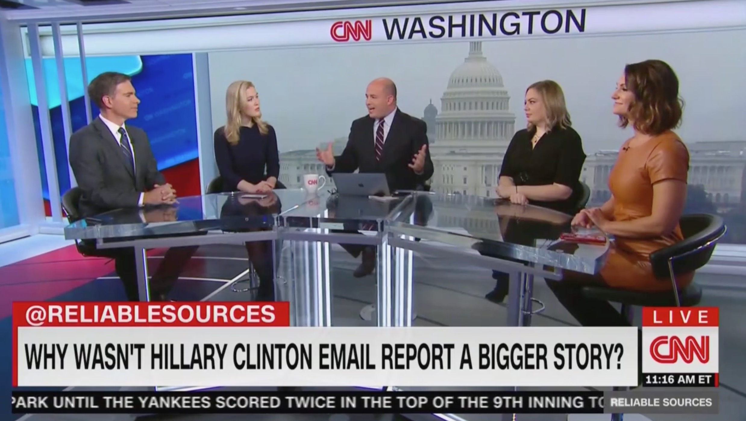 Brian Stelter: Why is State Dept's 'Anti-Climactic' Clinton Findings 'Not Getting More Airtime' After Years of Outcry?
