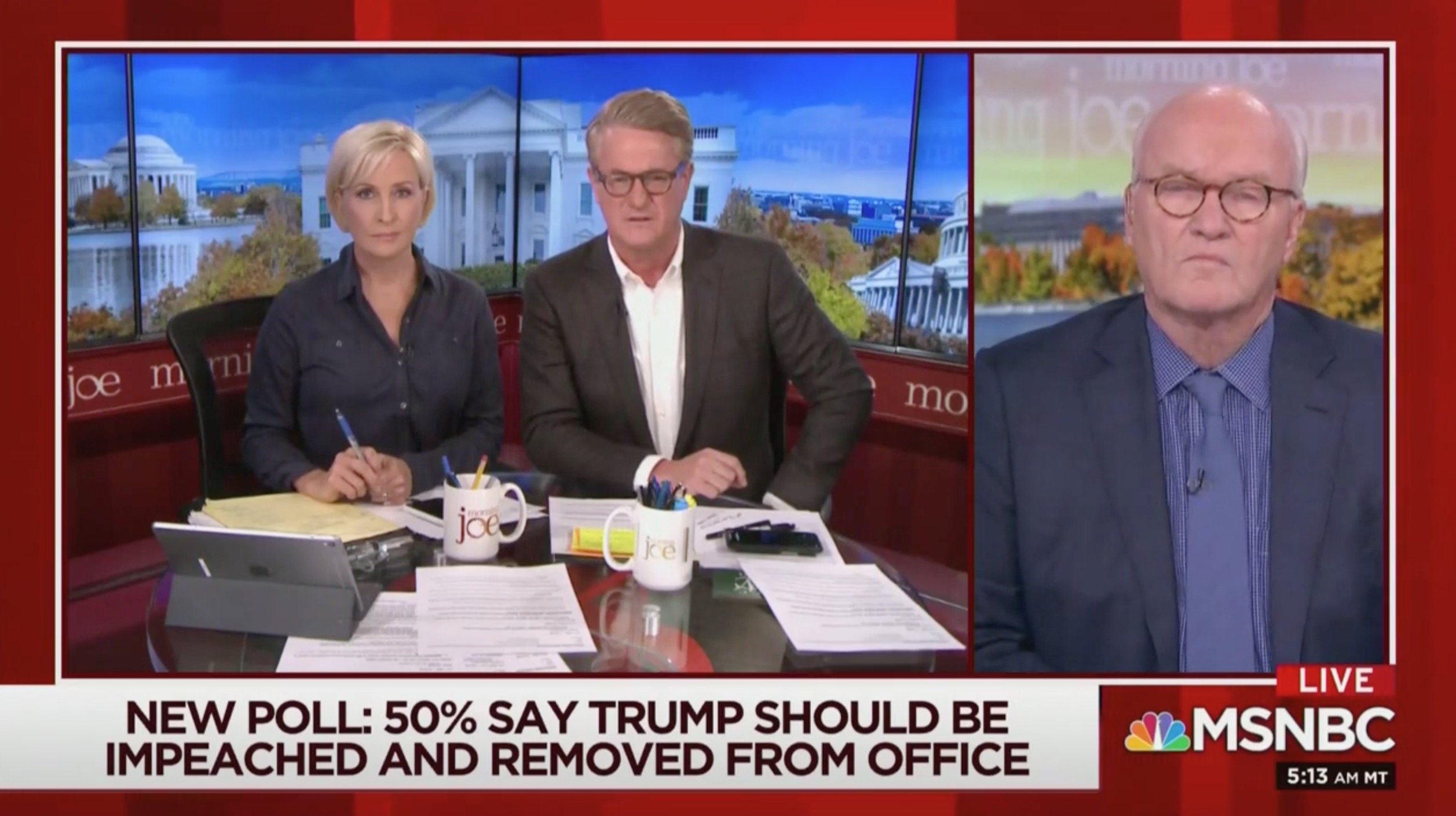 Joe Scarborough Wrecks Trump for Letting Russia Benefit From Syria Crisis: 'Pelosi Was Right, All Roads Lead to Putin'