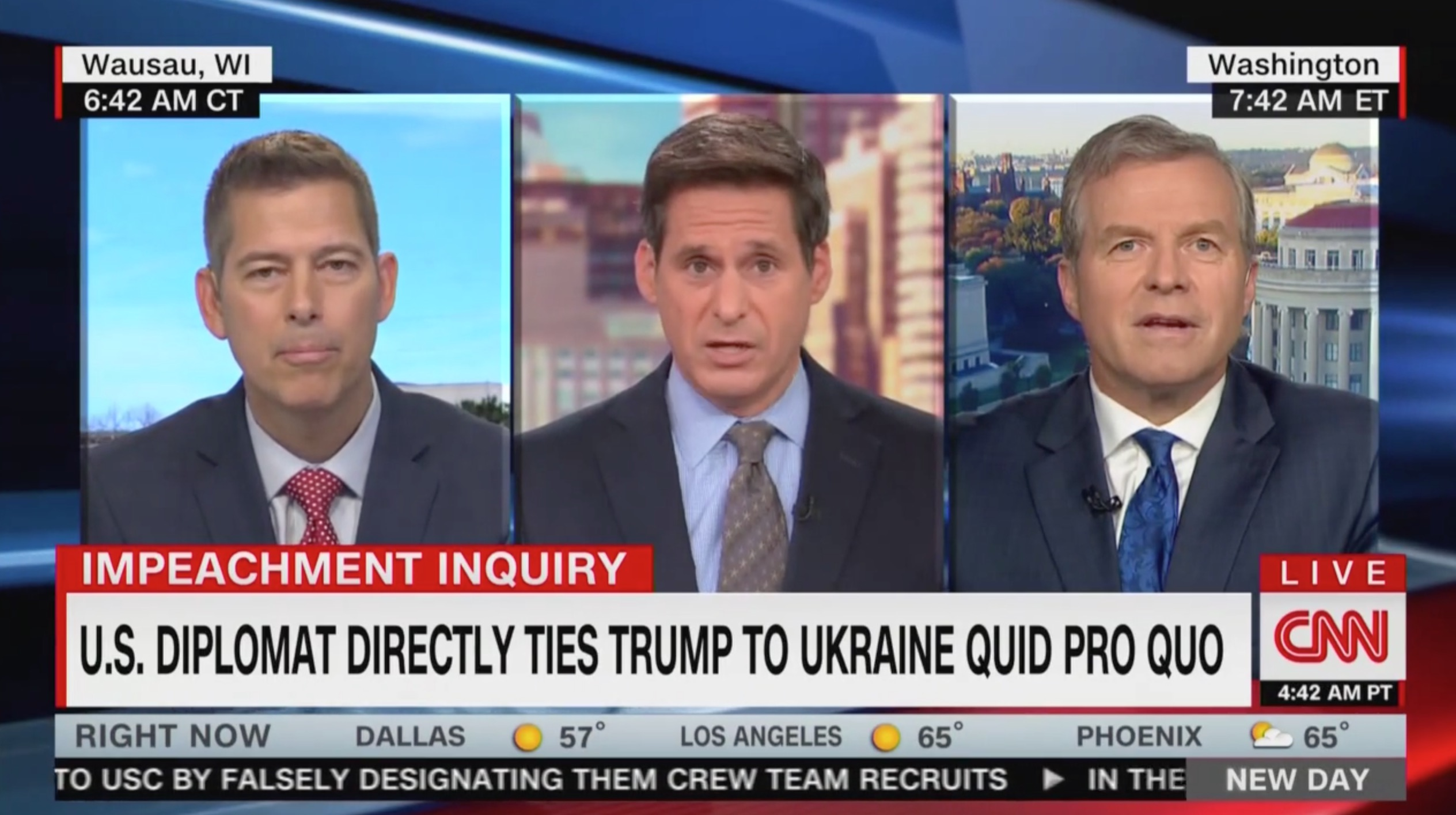 Sean Duffy Gets Repeatedly Owned In Bonkers CNN Segment: 'My Nose Isn't a Heat-Seeking Missile for the President's Backside'