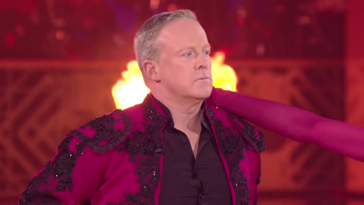 It Appears Jesus Is Keeping Sean Spicer on Dancing With the Stars For