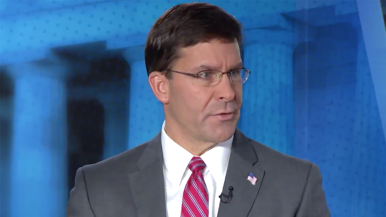 DefSec Esper Says Trump Has Ordered 'Deliberate Withdrawal of Forces from Northern Syria'