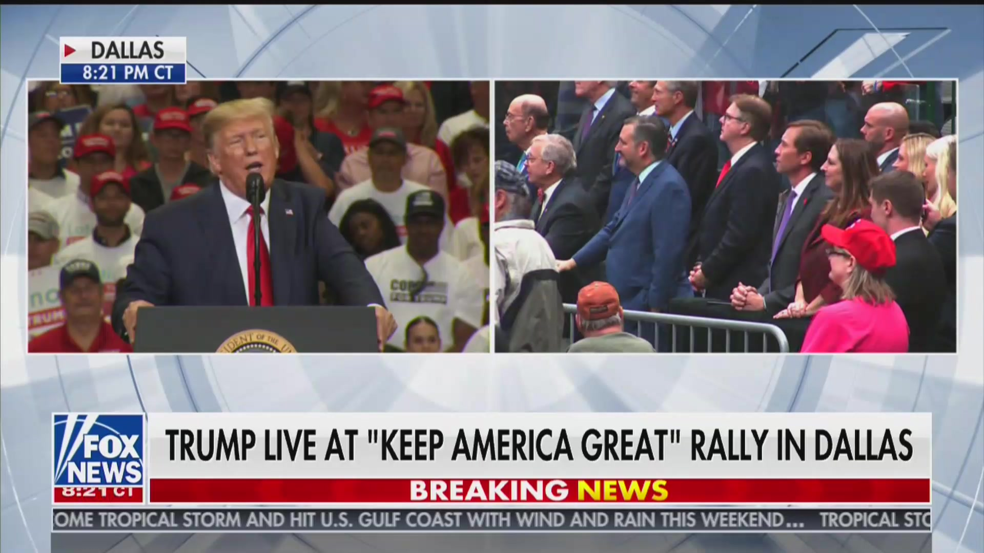 Trump Rally Brings in Big Numbers For Fox News in Thursday Night Ratings