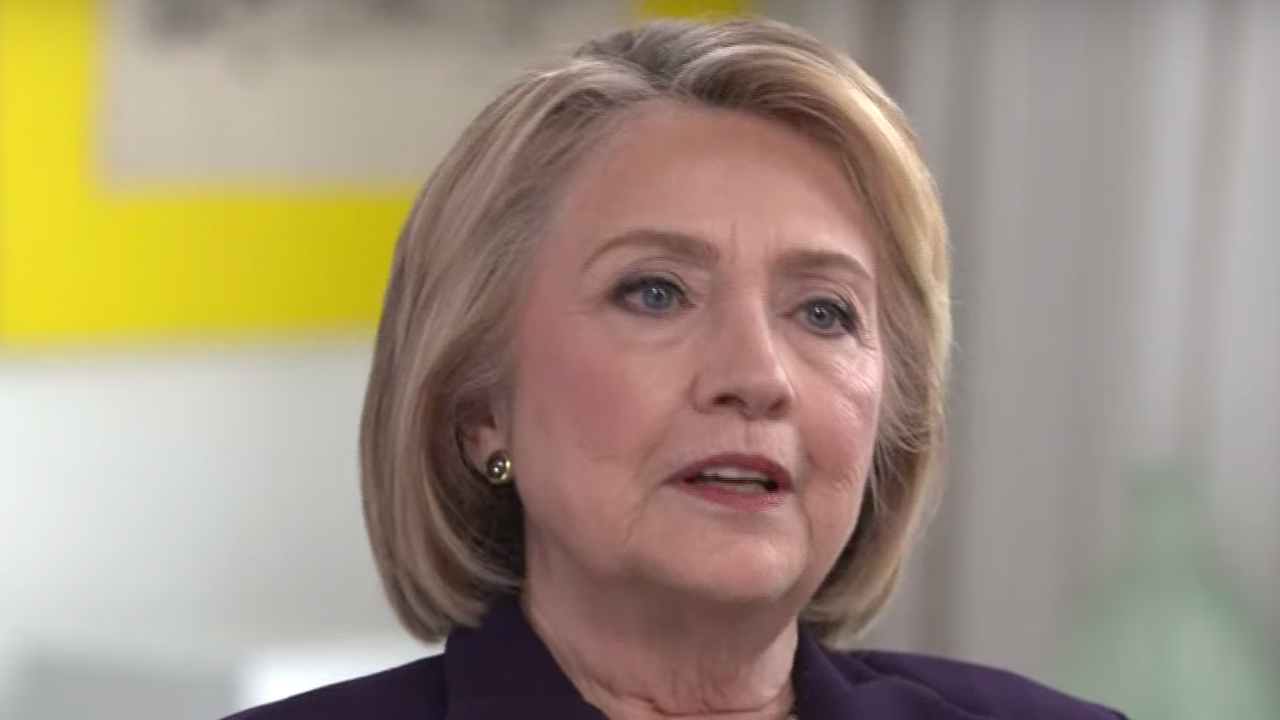 Hillary Clinton Claims Russians are Grooming a Female 2020 Dem Candidate For Third-Party Run
