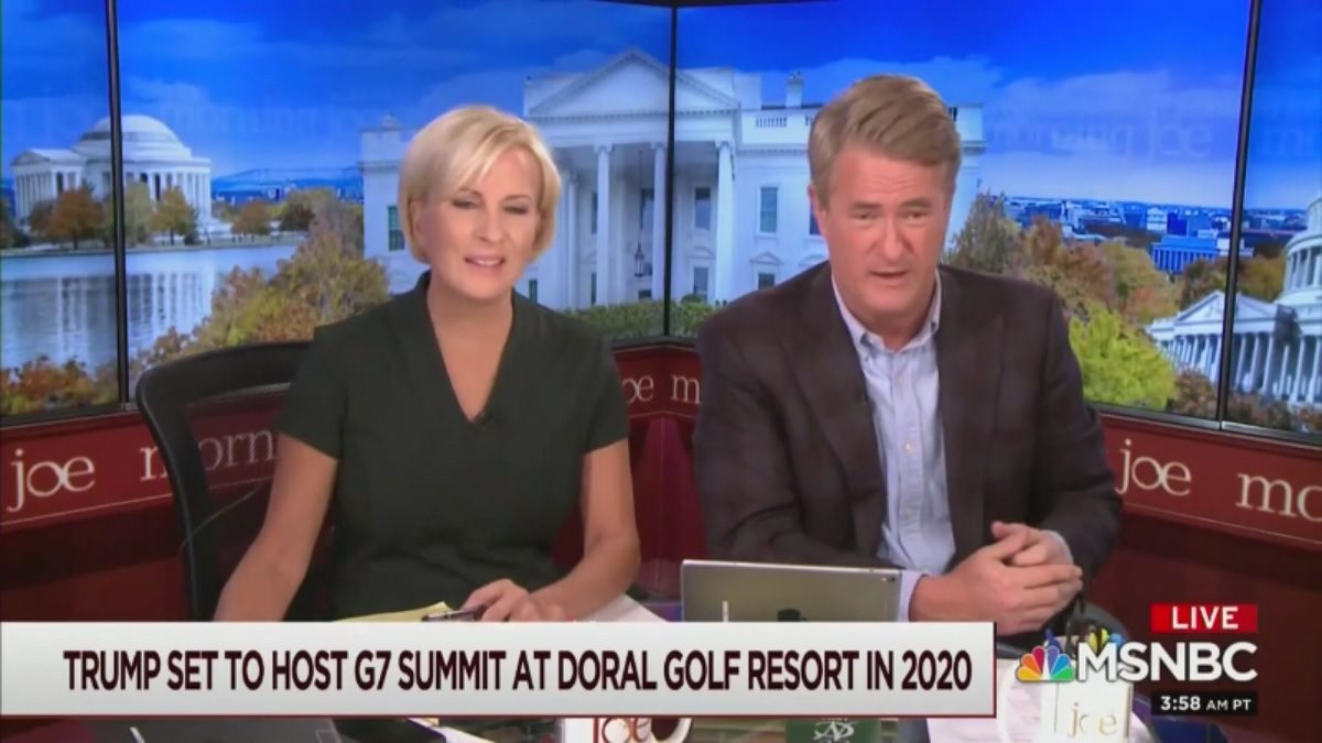 WATCH: Morning Joe Trolls Trump with 18 Mentions of 'Bedbugs' at Doral Resort