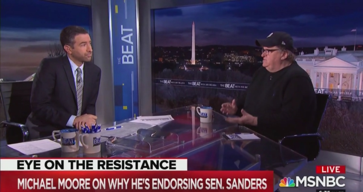 Michael Moore Endorses Bernie Sanders, Explains Why Not Elizabeth Warr