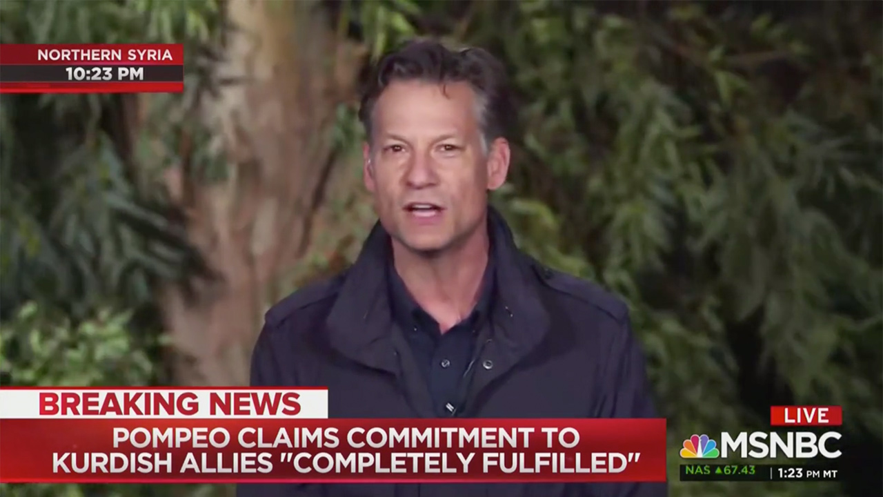 NBC's Richard Engel Tears Into Pompeo: 'I Don't Know How He Can Possibly Even Say' U.S. Has Fulfilled Commitment in Syria