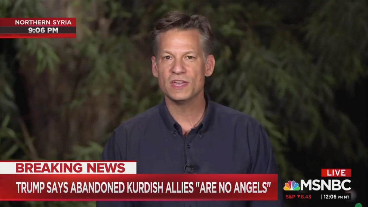 NBC's Richard Engel: Trump's Claim That Kurds 'Much Safer' Now 'Absolutely Not the Case'