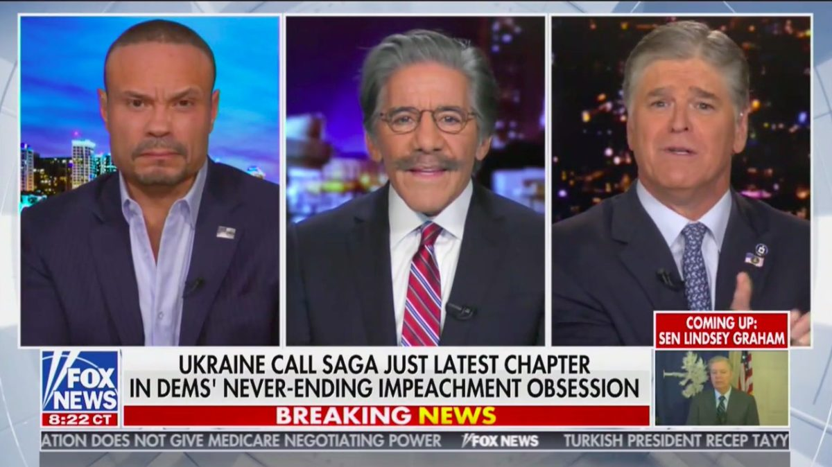 Geraldo Defends Hannity After His Cameo in Impeachment Testimony: 'I Feel Sorry for You,' You're Being 'Viciously' Attacked - Mediaite