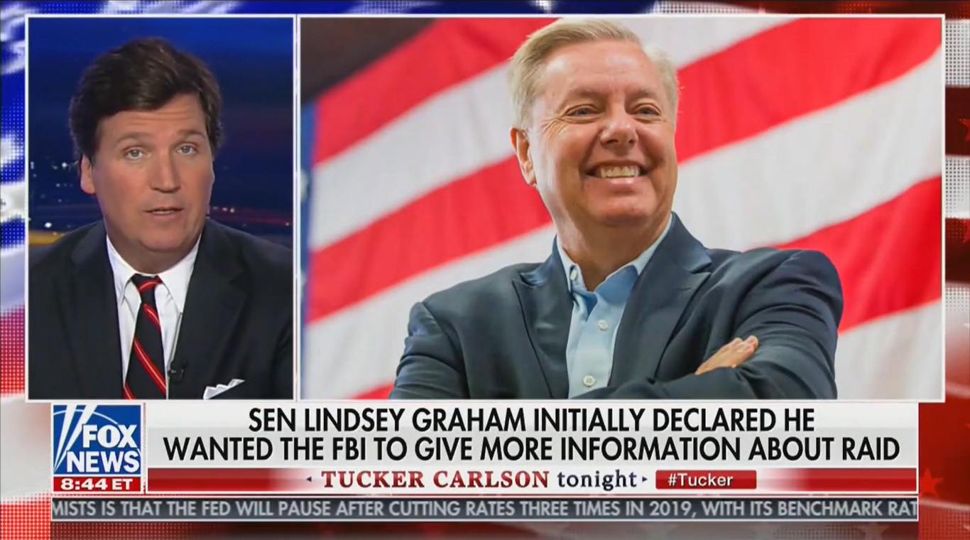 Tucker Carlson Tears Downs Lindsey Graham For Empty Promises to Republican Voters