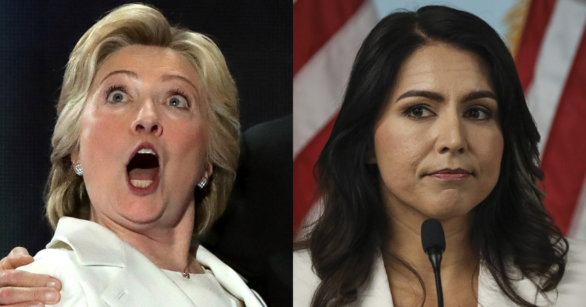 NYT Fashion Critic Loved Hillary's All-White Looks, But Sees 'Cult Leaders' When Tulsi Wears It