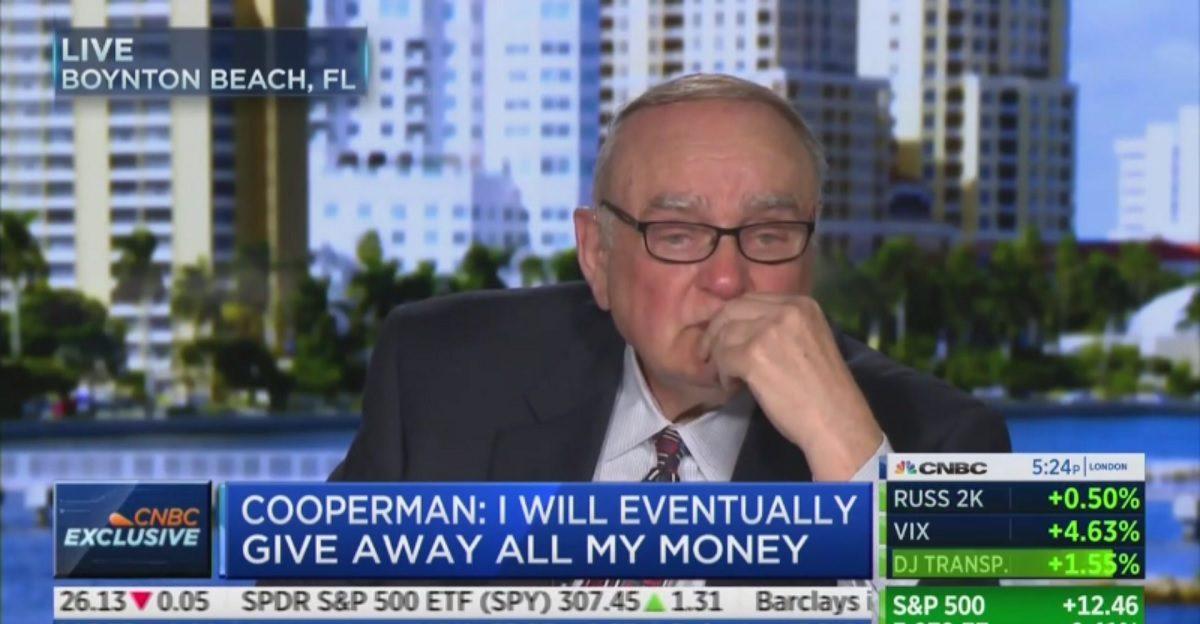 Watch Wall Street Billionaire Literally Cry Over Choice Between Trump and Elizabeth Warren