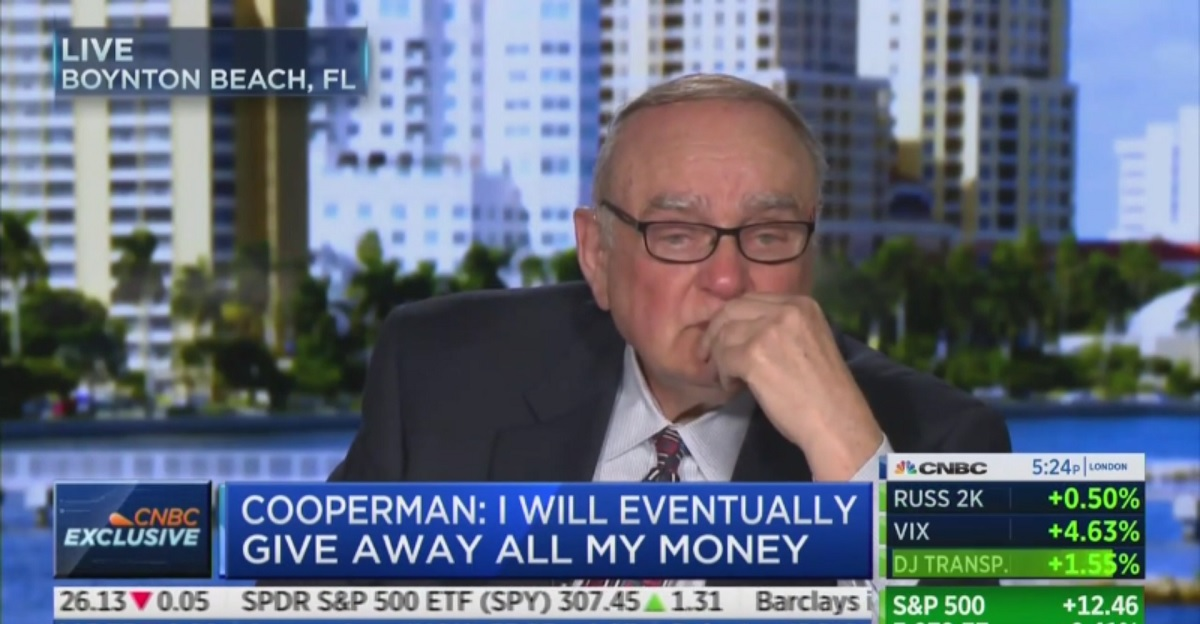 Watch Wall Street Billionaire Literally Cry Over Choice Between Trump