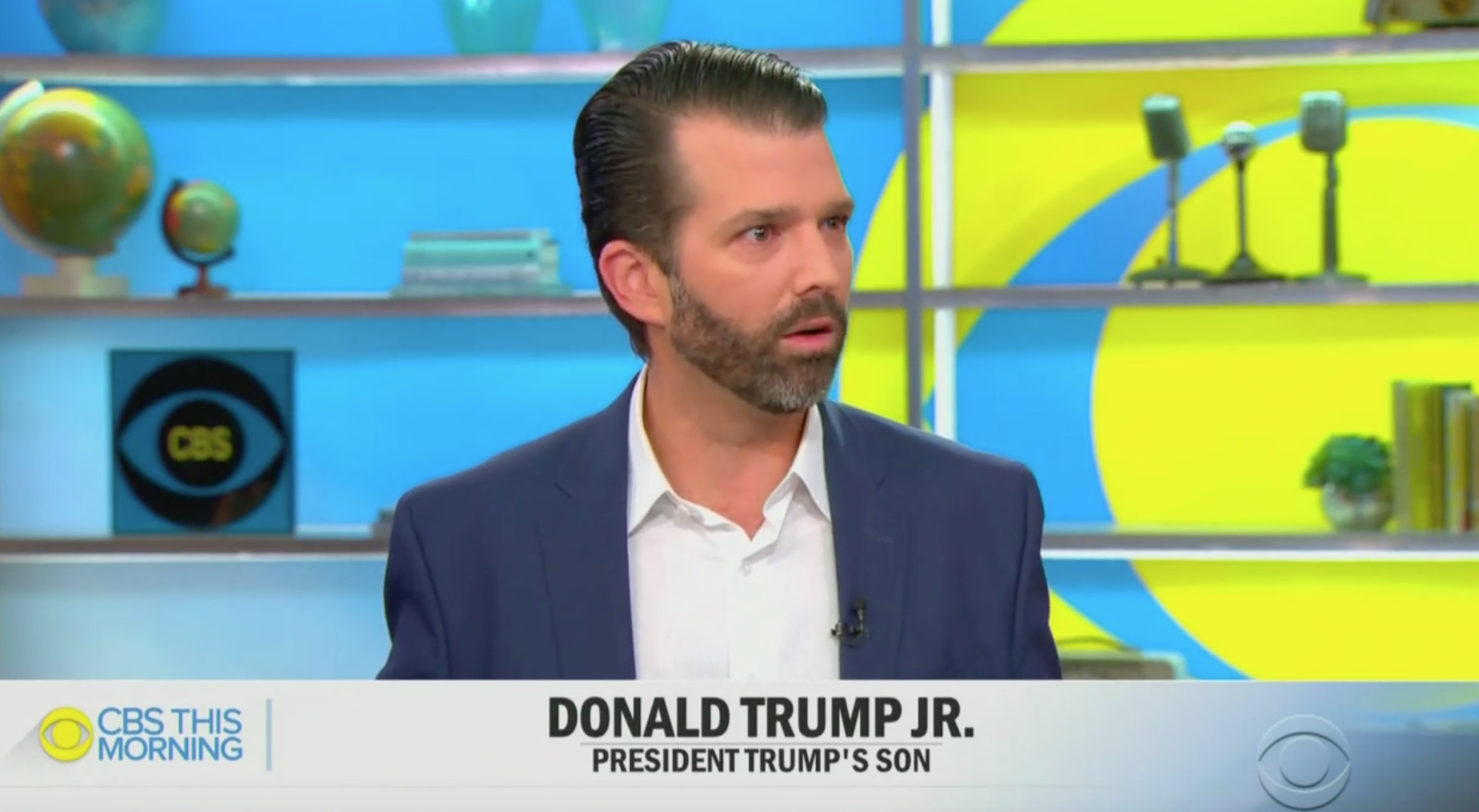 When Asked to Name His 'Favorite Democrat,' Donald Trump Jr. Snarks 'Mitt Romney'