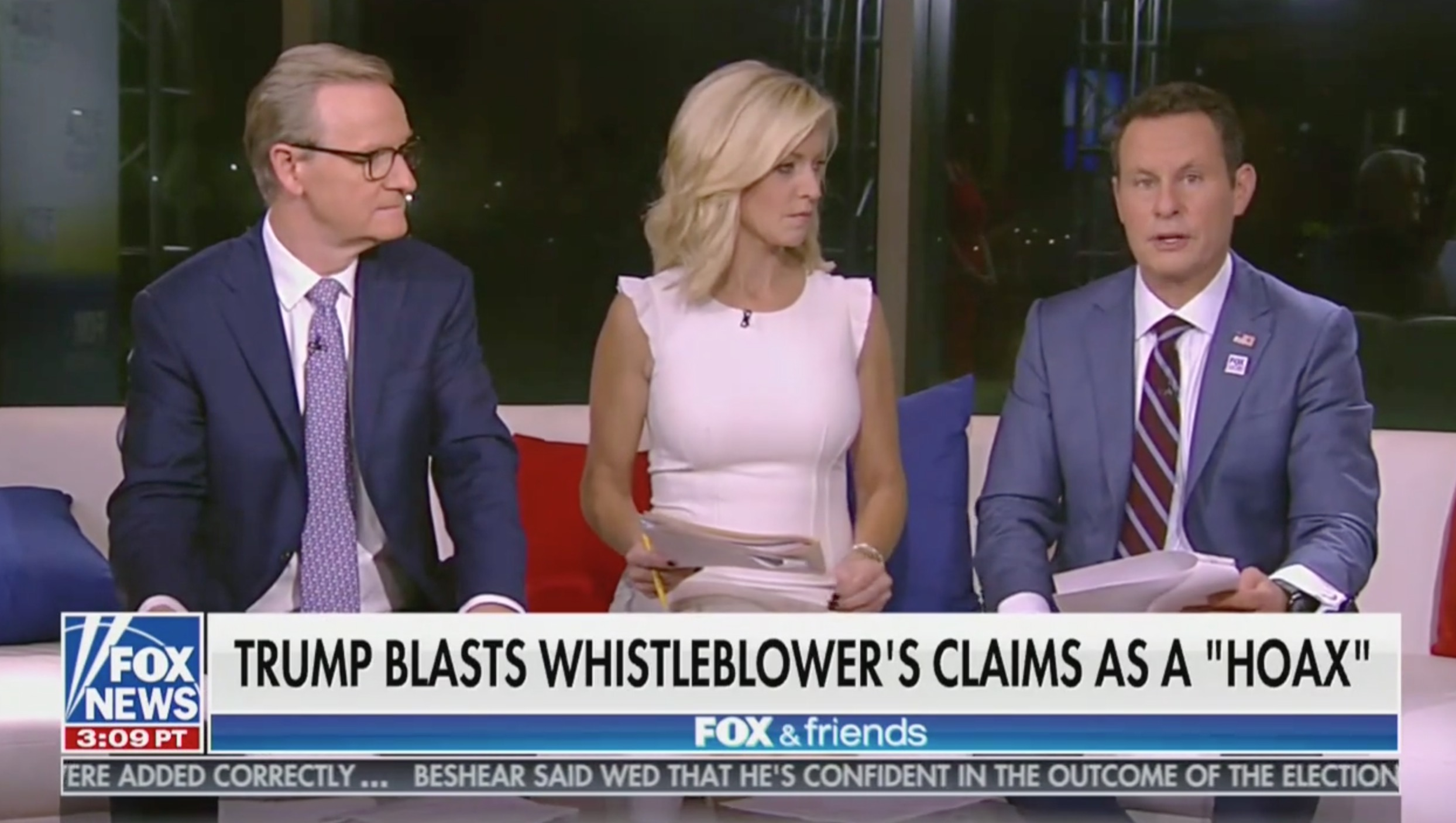 Brian Kilmeade Hits CNN: 'Have You Ever Seen a Positive Word About the President' From Them?