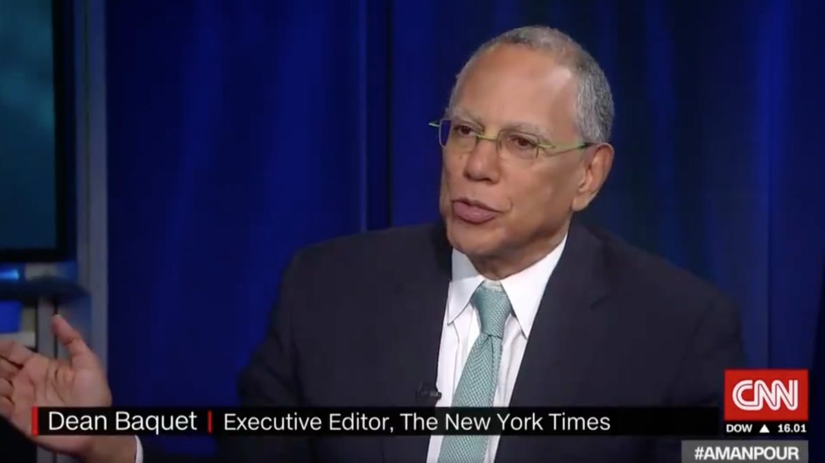 NY Times Editor Dean Baquet Describes Forcing Harvey Weinstein to Give Comment on Bombshell Report