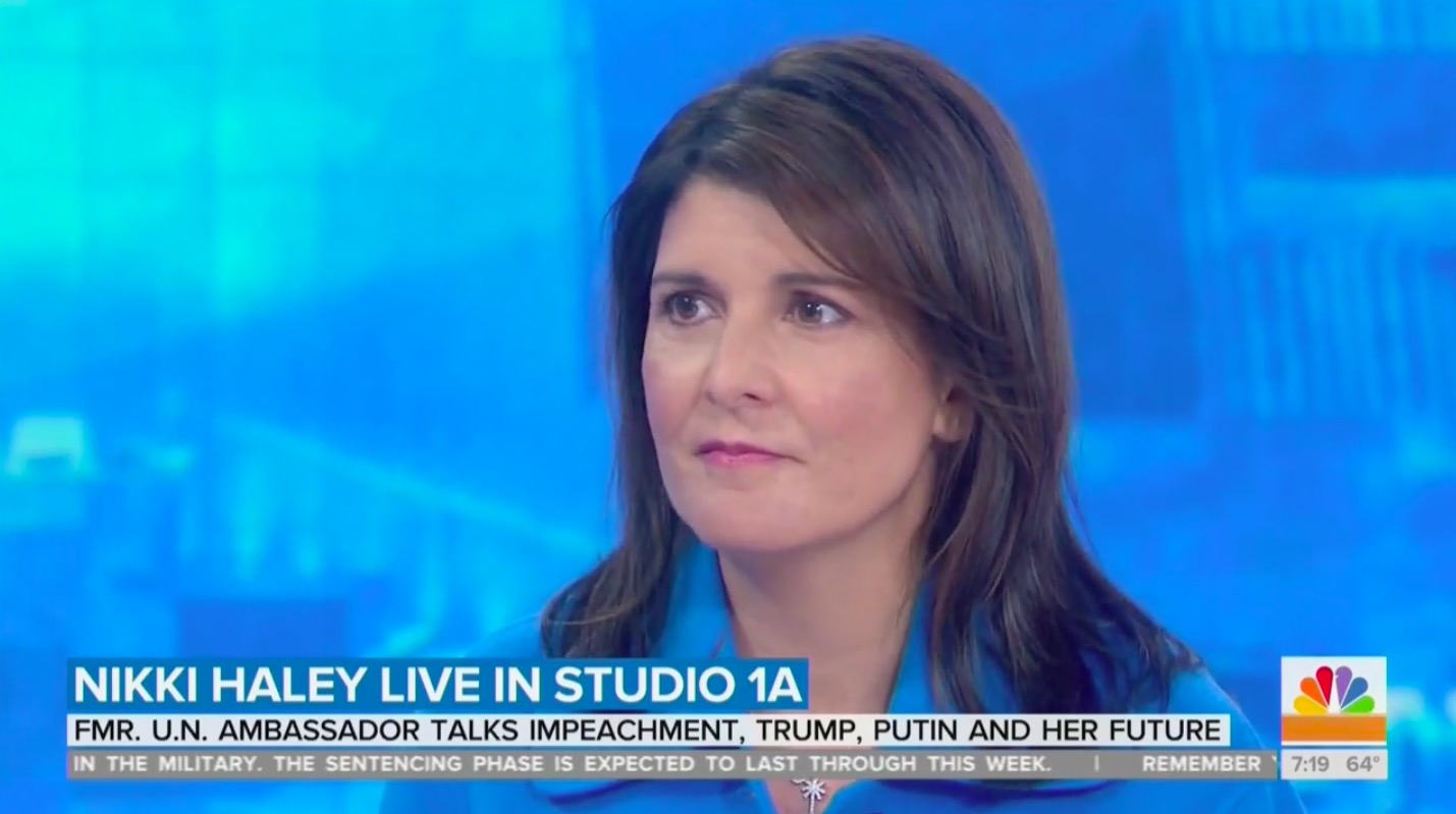 Nikki Haley Says She Never Doubted Trump's Mental Fitness; He is a 'Truthful' Person
