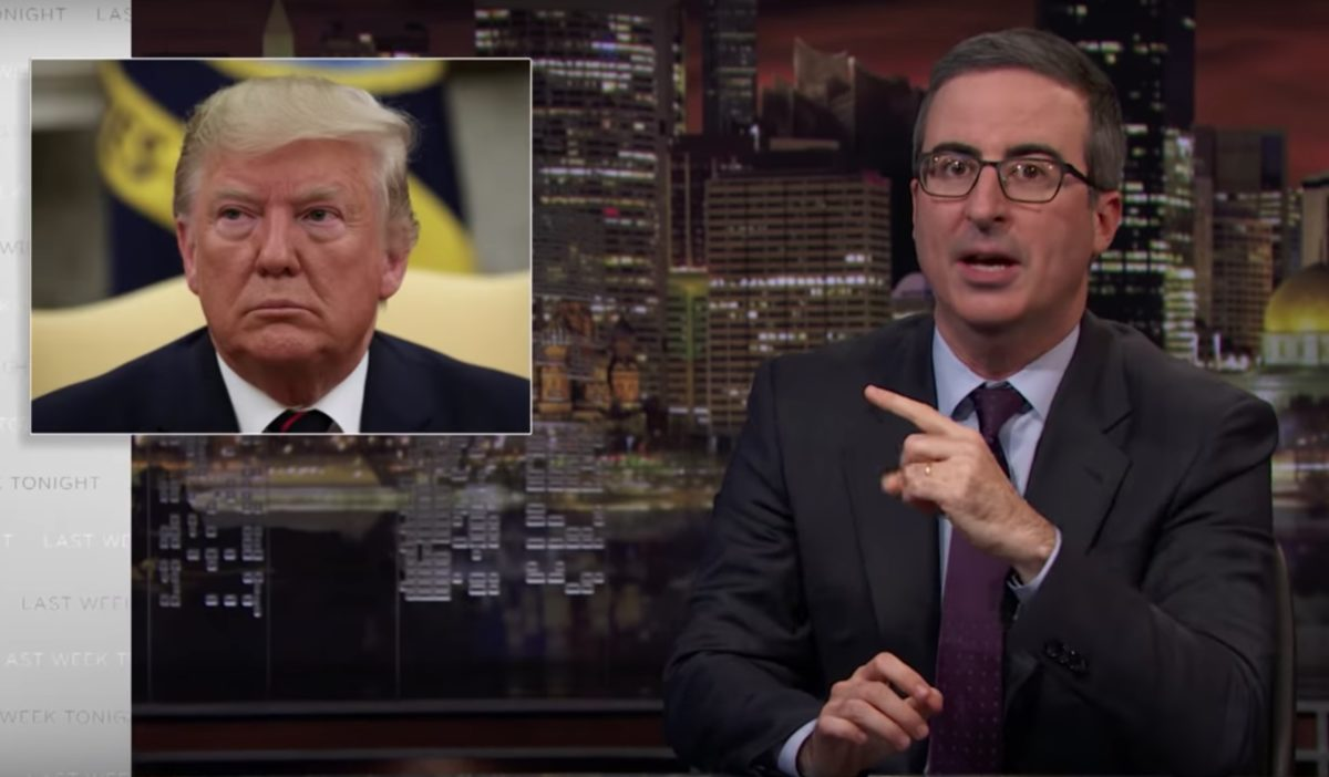 Watch John Oliver Torch GOP Impeachment Talking Points From Fox Hosts Ingraham and Varney