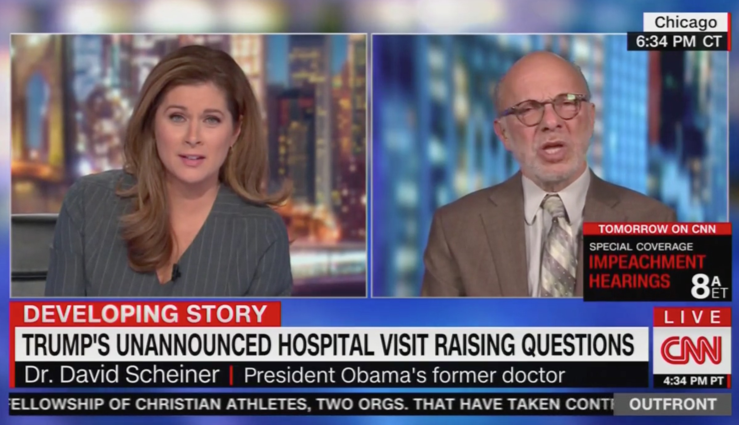 Former White House Physician on Trump's Health: There's a 'Neurological Issue' Not Being Addressed