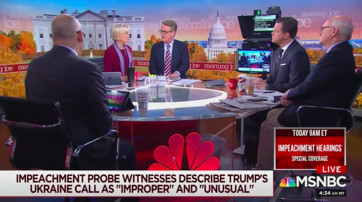 Joe Scarborough Accuses Republicans on House Intel Committee of 'Lack of Love of Country'