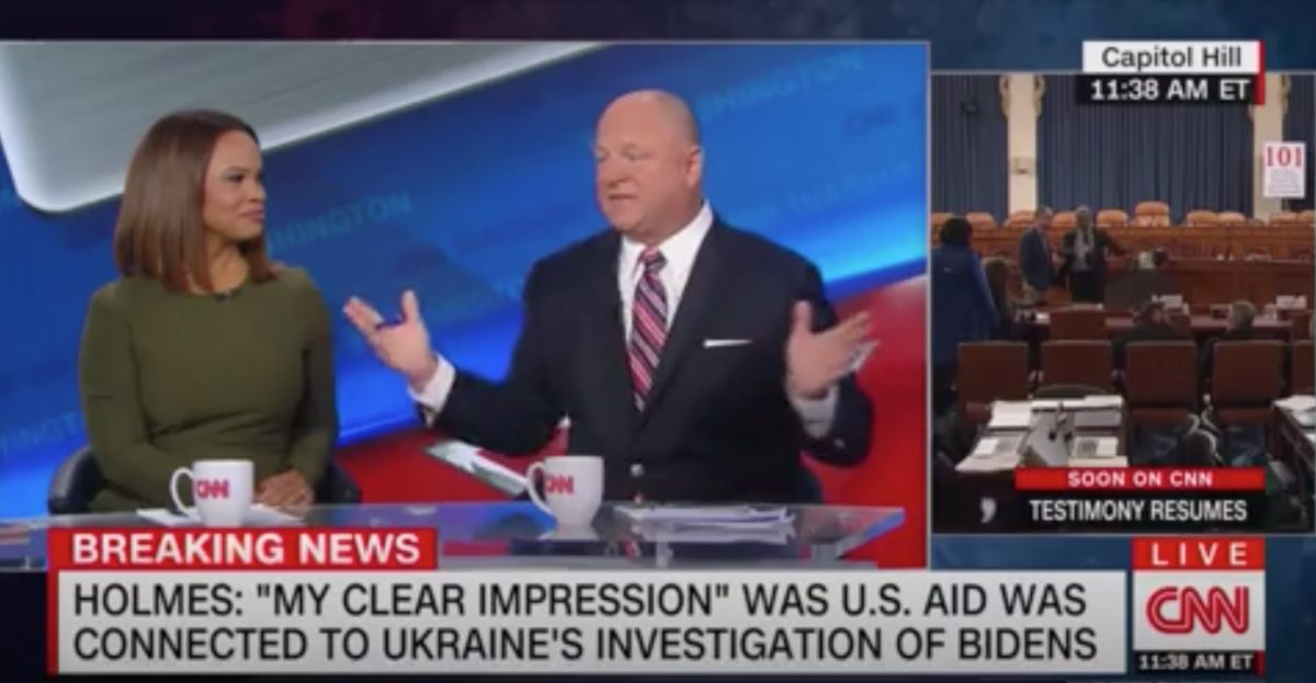 CNN's David Urban Stopped Cold Over Mulvaney's Quid Pro Quo Comments: 'Got No Answer For That'