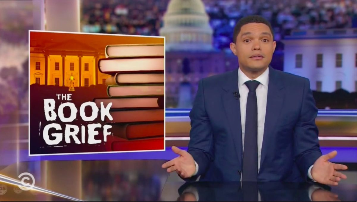 Trevor Noah Calls Out Greed Behind Pro-, Anti-Trump Tell-Alls: 'These Books Don't Help the Country,' They Just 'Profit Off the Chaos'