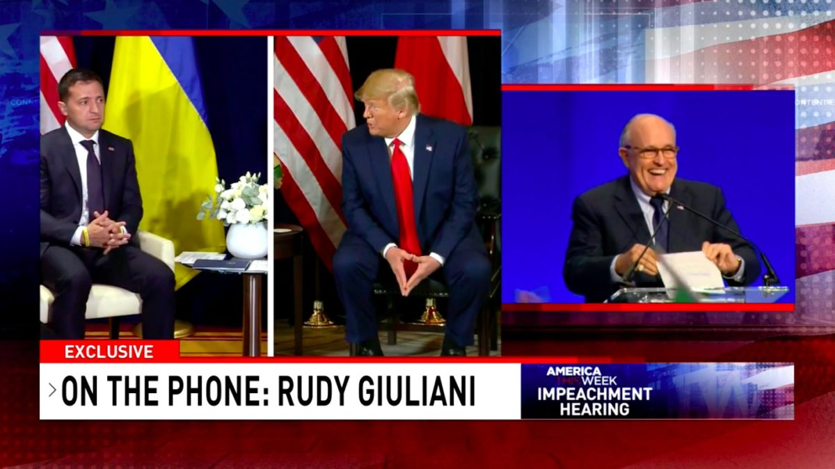 Exclusive: Giuliani Now Claiming Biden 'Bribed' Former Ukrainian President