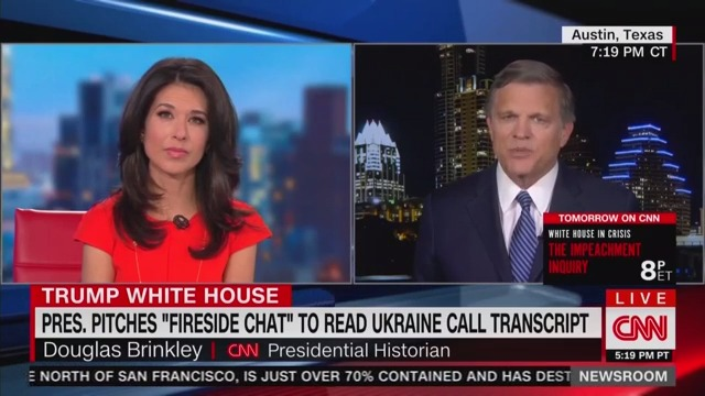 CNN Historian Dismisses Trump's Fireside Chat Idea, Says It Could 'Look Like a Hostage Film'