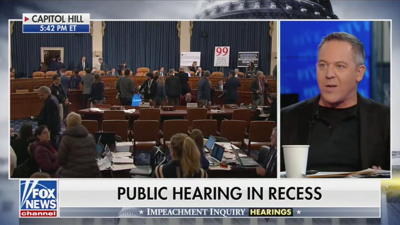 Fox News' Gutfeld: Impeachment Hearings 'A Tremendous Absolute Waste of Time… It's a Freaking Joke!'