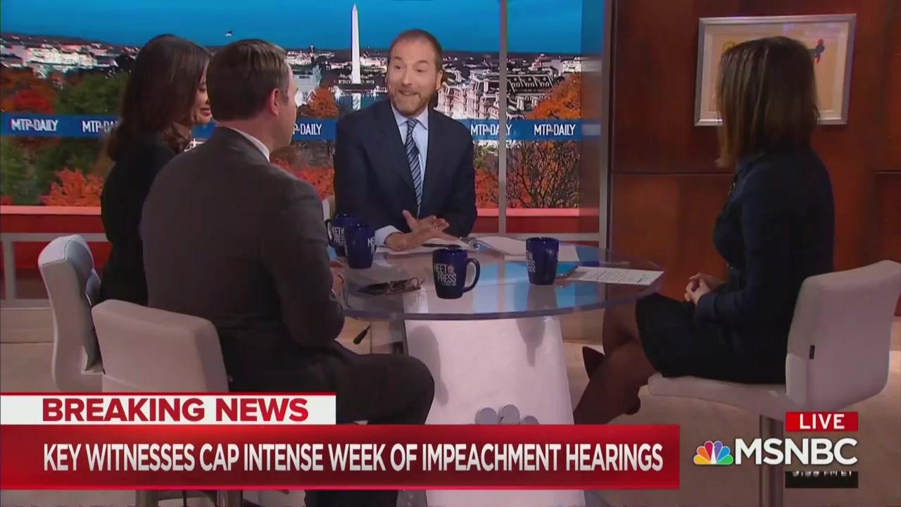 WATCH: Chuck Todd, MSNBC Panel Cracks Up at Jim Jordan's Hearing Questions