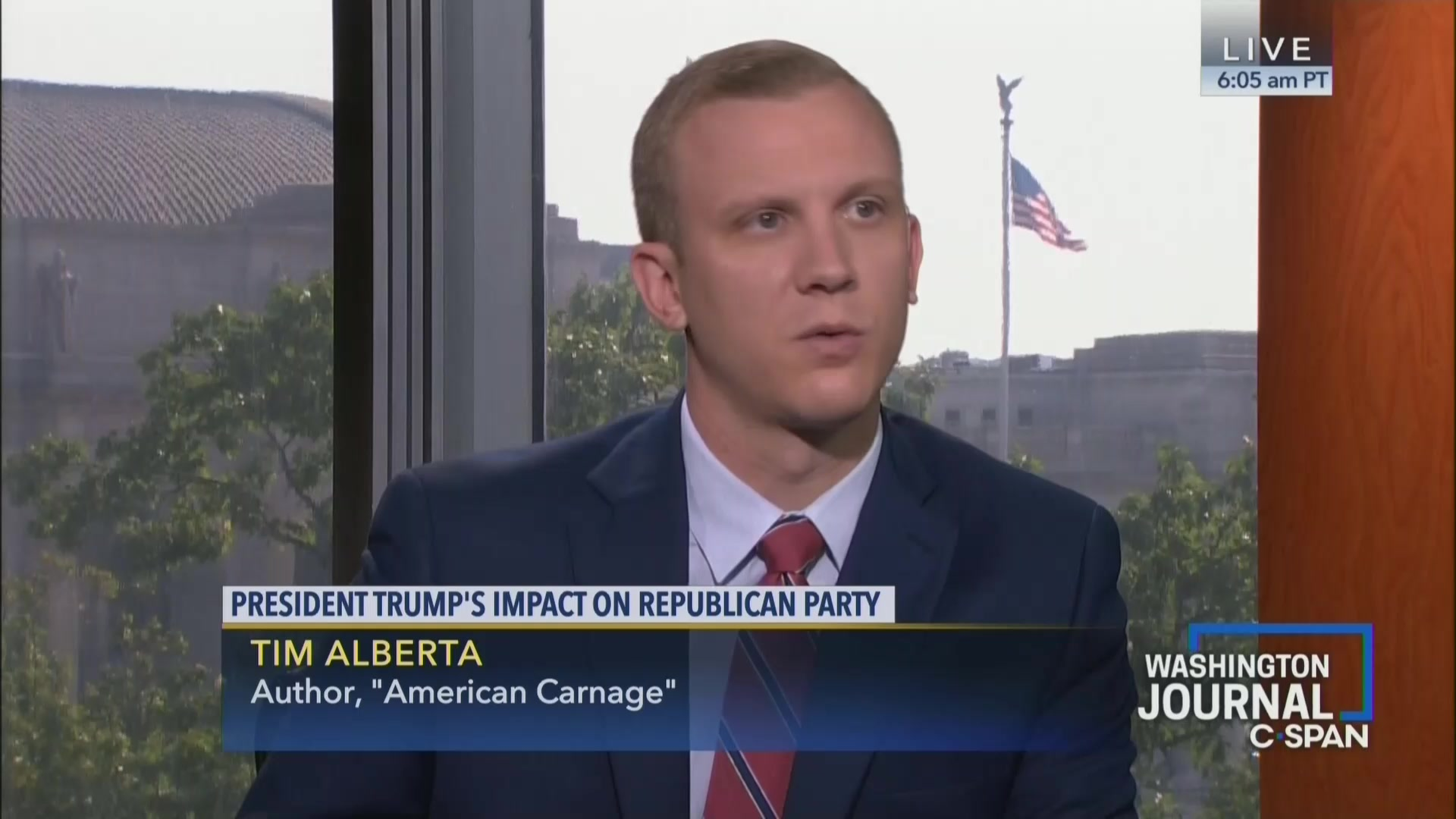 Journalists Defend Politico's Tim Alberta Following Report that DNC Doesn't Want Him to Moderate Debate