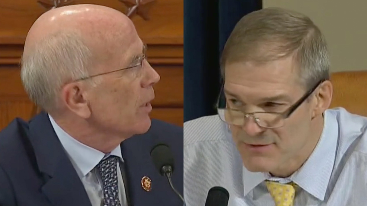 Watch a House Dem Totally Dunk on Jim Jordan After He Ranted About the Whistleblower Not Testifying