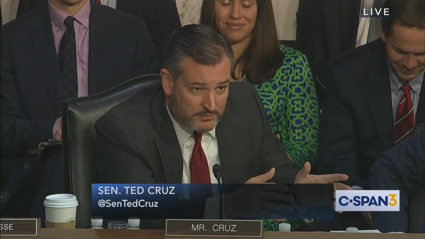 Ted Cruz Goes Off on FBI Investigation at IG Hearing: 'This Wasn't Jason Bourne, This Was Beavis and Butthead'