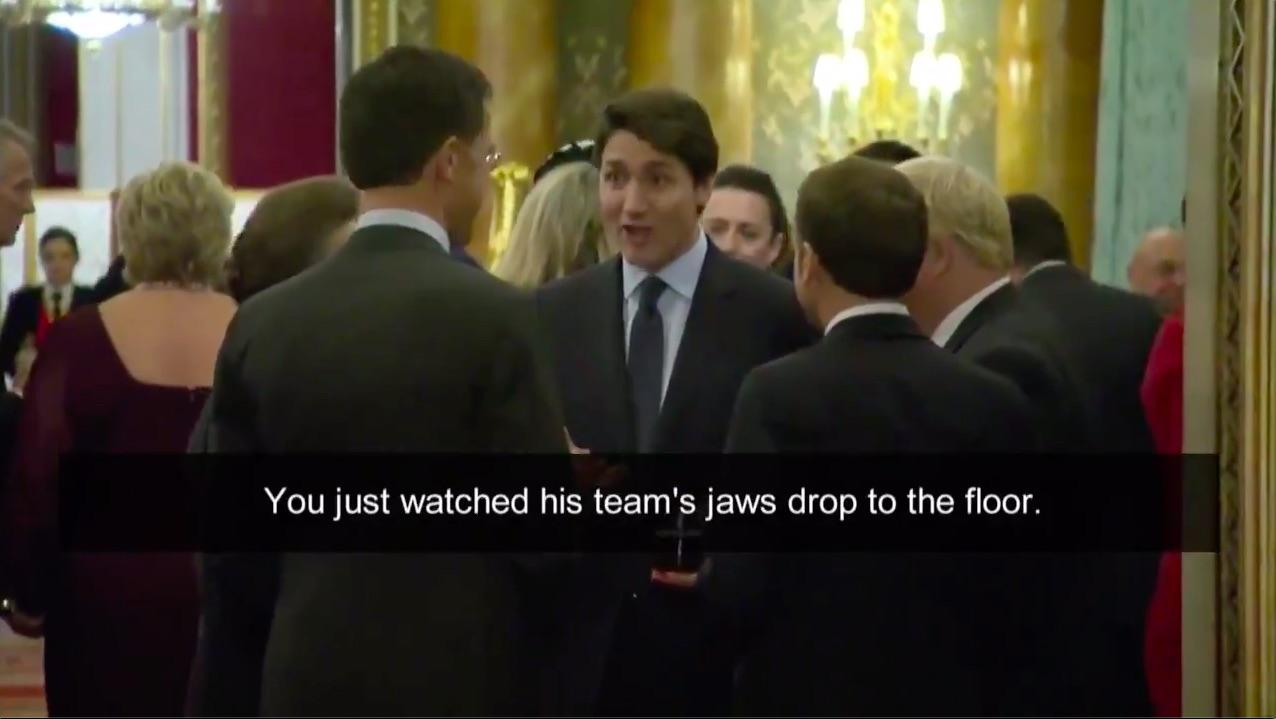 Image result for world leaders mock trump